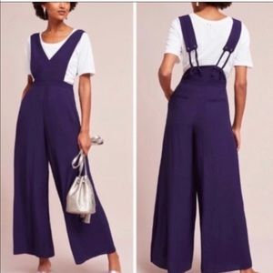 Anthropologie Maeve Overall Jumpsuit